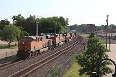 BNSF 7129 (CC 8039) Tags: bnsf trains es44ac ac44cw c449w fort madison iowa