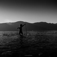 Little Poseidon (.KiLTRo.) Tags: pucón regióndelaaraucanía chile cl kiltro water agua lake lago kid boy niño summer mountain fun life caburgua beach playa montaña