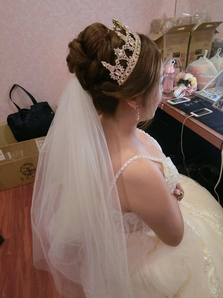 【新秘蓁妮】bride怡靜 訂結婚造型 / 苗栗欣桂竹園