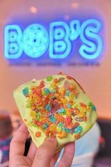 Fruity Pebbles (jpellgen (@1179_jp)) Tags: omaha bigo ne nebraska midwest usa america sigma 1770mm nikon d7200 2018 june spring summer travel roadtrip bobsdonuts donuts donut doughnuts doughnut bakery patries fruitypebbles food foodporn