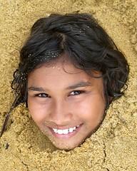 Sri Lankan Girl (IMG_7039b) (Denish C) Tags: srilanka ceylon serendip beauty girl woman happy portrait face smile joy fun