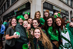 St. Patrick's Day 2016 (Joe U Photo) Tags: beer fun stpatricksday streetphotography chirish event party chicago dyeing events green chicagoriver people friends downtown festival group crowd street day st celebration patricks parade 2016 captured