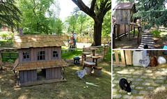 La ferme (Raymonde Contensous) Tags: jardindacclimatation paris jardins parcs poules lapin animaux