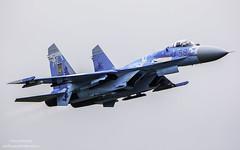58 Blue (Explored) (Paul.Basque) Tags: 58bl 58blue su27 flanker sukhoi 831 tactical aviation brigade ukraine ukrainianairforce aalborg airforce airforcebase ekyt aal danish airshow 2018 danishairshow danemark denmark display