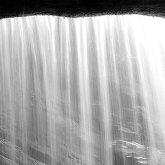 In Canyons 241 (noahbw) Tags: d5000 lasallecanyon nikon starvedrockstatepark abstract blackwhite blackandwhite bw canyon forest landscape light monochrome natural noahbw rock spring square stone water waterfall woods