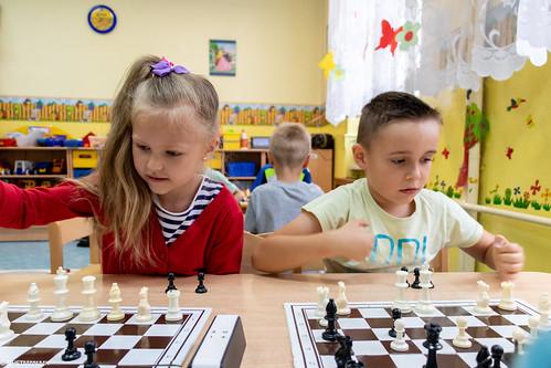 V Turniej Szachowy o Mistrzostwo Przedszkola Miejskiego Nr 1-13