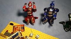 Assault on Baie Rouge (Śląski Hutas) Tags: lego bricks moc diorama pirates imperials fire explosions wargaming nerds