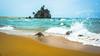 Kemasik Beach, Terengganu (I am PhotoG) Tags: beach calm tree wave ocean vacation malaysia travel visitterengganu scenery sonya6000