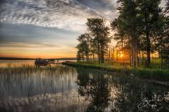 Pure Michigan Morning Crooked Lake (The Shutter Affair) Tags: crooked lake michigan petoskey reflections sunrise petoskeymichigan crookedlake nature boats