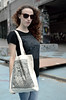 TASTOIID - Tote Bags (Teratoiid) Tags: teratoiid linogravure lino linocut printing impression tshirt homemade bruxelles brussels streetart gravure éditionlimitée limitededition tote bag