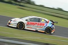 BTCC #303 Simpson (mwclarkson) Tags: btcc croft circuit touring cars clio cup f4