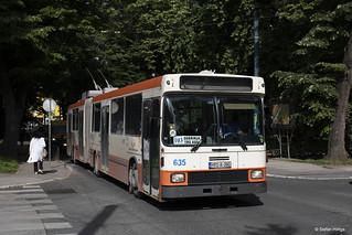 Sarajevo Trolleybus 635 Trg Austrije, 23.05.2018