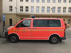 Berlin Fire Brigade / Berliner Feuerwehr - Volkswagen Caravelle Binz (firehouse.ie) Tags: fd brigade berlin fire feuerwehr binz volks volkswagen vw