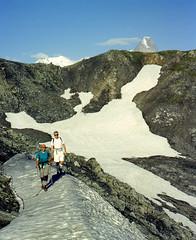 Hiking on the Alps (giorgiorodano46) Tags: agosto1997 august 1997 giorgiorodano analogic fotoanalogica alpi alpes alps alpen valferret drone hiking trekking randonnée escursione vallese wallis valais svizzera suisse switzerland schweiz valdaosta valléedaoste montblanc montebianco