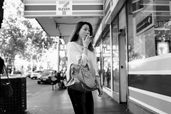 7 (McLovin 2.0) Tags: candid people portrait girls smoking cigarette style urban city melbourne street streetphotography sony rx1 zeiss smokes