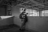 Metro Ermita, México City. (Christian S. Mata) Tags: ricoh gr grii pentax black white street urban city monochrome mono blanco negro byn bnw bw noir contrast streettog méxico downtown life daily decisive moment 18mm 28mm