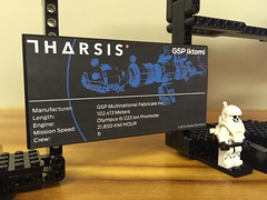 Iktomi from Tharsis - UCS Plaque (AlexNeuse) Tags: lego neuselego tharsis choiceprovisions video games iktomi ucs