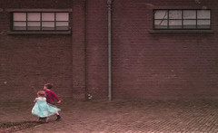 Dreamland (nokkie1) Tags: holland netherlands depont tilburg outside children playing boy girl fairytail brick