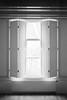 The blinds (onemanifest) Tags: room window blinds light highcontrast blackwhite monochrome flim analog minoltaxd7 minoltamdrokkor85mm117 ilforddelta400 hardwoodfloor lowceiling view