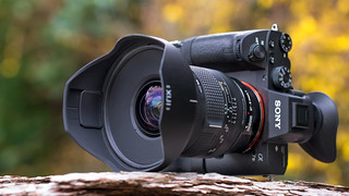 SONY a7III with IrIX Firefly 15mm ƒ/2.4 rectalinear ultra wide angle lens on Metabones T Mark IV