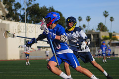 Samo Lacrosse vs San Marcos 030918 (morgan@morgangenser.com) Tags: santamonicahighschool blue boys camera gridiron lacrosse highschool kick lens nike nikon oceanleage check cradle snoot ball helmet gloves sticks cleates run rush samo samohi tackle vikings wilson yellow varsity warrior stx brine fastpaced