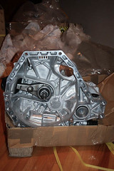 Throwback B18c Transmission (Leightino) Tags: jdm integra type r 98 spec itr 5 speed transmission with 4785 final drive lsd