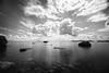 Summer clouds (Björn Knif) Tags: summer clouds sea rocks reflections long exopsure suomi finland replot raippaluoto