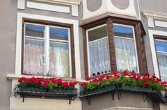 Fancy Bay Windows [Sterzing - 25 August 2017] (Doc. Ing.) Tags: 2017 sterzing vipiteno trentinoaltoadige südtirol southtyrol italy bolzano bz window dwwg oldnewwindowsdoors balcony