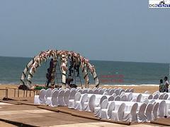 beach wedding theme decorations dj in delhi ncr (rakeshjhunjhunwala) Tags: event planner dj gurgaon delhi bhiwadi neemrana alwar jaipur faridabad
