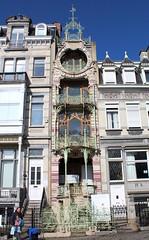 Saint-Cyrhuis, Brussel (Erf-goed.be) Tags: saintcyrhuis herenhuis brussel archeonet geotagged geo:lon=43839 geo:lat=508478 gustavestrauven