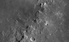 20180326 19-51 Rima Hadley & Apollo 15 landing site (Roger Hutchinson) Tags: apollo15 hadleyrille rimahadley moon space apollo london astrophotography astronomy celestronedgehd11 asi174mm televuepowermate