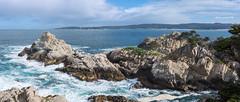 Pinnacle Point Panorama (Matt McLean) Tags: california carmel coast landscape monterey ocean pacific pointlobos shore