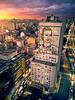 Edificio del Ministerio de Salud (deensel) Tags: evita peron maría eva duarte de perón cityscape drone aerial aerialphotography quadcopter dji mavic mavicpro argentina buenos aires sunset avenida 9 julio