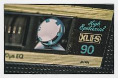 Maxell- Made in Japan (fotoerdmann) Tags: fotoerdmann canon c90 tdk cassette tape backintheday macromonday