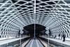Warp (Alex Fonderson) Tags: netherlands nederland holland thehague denhaag station centraal tracks nightphotography