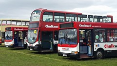 Chalkwell Coaches line-up Dennis Darts & Volvo B7TL at Detling by Shayne Howarth (focus- transport) Tags: detling bus coach show malta silver star portsmouth corporation guide friday eurocruiser west riding farthing coaches autocar metrobus chalkwell london buses brighton hove stagecoach nu venture go goahead general nbc eastern counties first essex bedford ql vas5 sammut leyland atlantean royal tiger doyen olympian national weymann mcw volvo b10m b7tl van hool dennis dart trident plaxton pointer alexander alx400 scania l94ub east lancs supreme iv metropolitan president coachworks bristol relh6g wright axcess floline