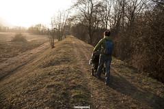 <3 (MarcoAgustoniPhotography) Tags: bolle di magadino argine ticino fiume tramonto passeggino sve