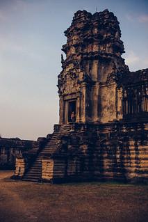 Addie and Angkor