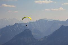 Over The Top (CoolMcFlash) Tags: paraglider sport glider mountain landscape sky canon eos 60d austria paragleiter gleiten gebirge berg peak landschaft himmel österreich fotografie photography extreme tamron b008 18270 rural scenics person view aussicht