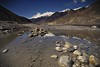 Kali Gandaki (PoetheusFotos) Tags: nature nepal himalaya annapurna trekking circuit rough raw reflection