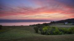 Lever du jour le long du Saguenay (gaudreaultnormand) Tags: automne canada frais leverdesoleil lumière quebec saguenay sunrise