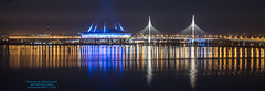 The Krestovsky Stadium at night (Magic life gallery) Tags: sanktpeterburg saintpetersburg russia ru the krestovsky stadium night thekrestovskystadiumatnight krestovskystadium tripod slow slowshutter carlosbustamante carlosbustamanterestrepo rusia