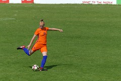 Evi Maatman in Oranje