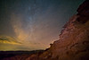 Light Pollution Rainbow (Gentilcore) Tags: astro astrophotography blue bureauoflandmanagement clarkcounty color colorful dark fins galacticcore galaxy goldbutte goldbuttenationalmonument gradient landscape light milkyway multicolored nevada night nightsky orange rainbow red sandstone science sky southernnevada stars travel visit yellow beautiful boundary composition constellation core cosmic deep fiction iconic lights limits out outer pollution shapes space there univese unitedstates us