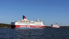 Amorella och Gabriella (zTomten) Tags: båtar fartyg viking line amorella gabriella boat ship passenger roro passagerarfartyg