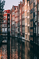 De Wallen Canal Bend (Octal Photo) Tags: 500px netherlands canal tourboat city break marina townscape accademia bridge ferry water taxi boats cities old town moorings building exterior skyline skyscraper boat architecture de wallen bend amsterdam noordholland