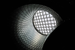 New York, United States (gstads) Tags: newyork ny nyc unitedstates us usa architecture line lines curve curves geometry geometric light shadow shadows dark darks skylight eclipse