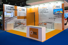 TEC CONTAINER S.A. - Exhibition Stand (Expo Exhibition Stands) Tags: expo exhibition exhibiton exposition beursstand messe messestand messebau rotterdam stand standbouw stands booth