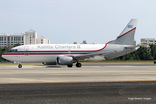 Kalitta Charters II / Boeing 737-3Y0(SF) / N331CK at TJSJ.