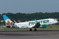 16-Jun-2018 DCA N235FR A320-214 (cn 7272)   / Frontier Airlines (Lockon Aviation Photography) Tags: 16jun2018 dca n235fr a320214 cn7272 frontierairlines lockonaviationphotography wwwlockonaviationnet washingtonbaltimorespotters